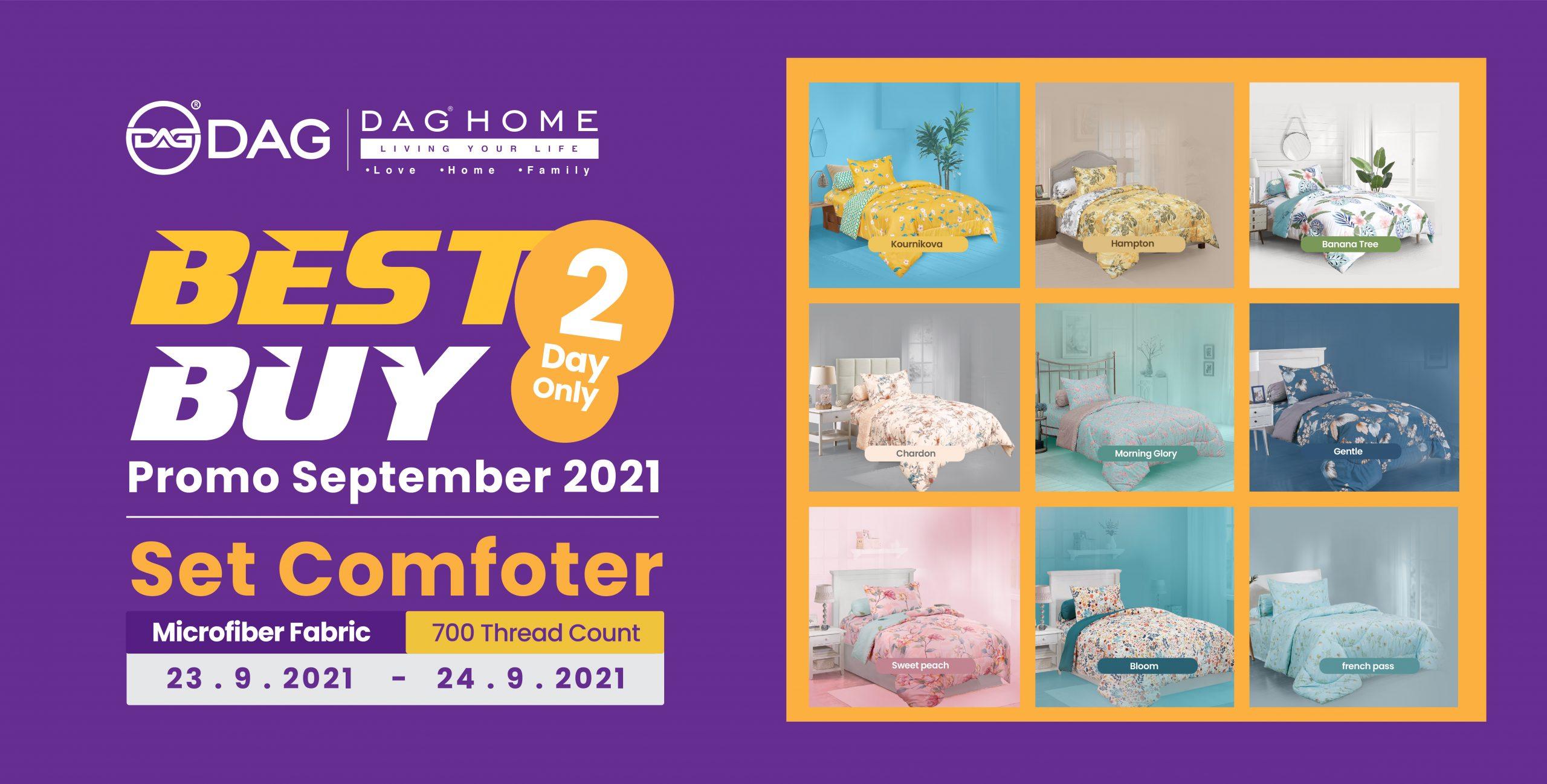 Best Buy! Comforter Paling Best, PERCUMA 2 biji Bantal DAG